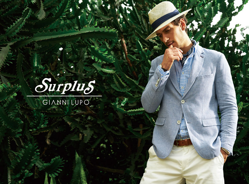 Gianni Lupo - Campaign Spring - Summer 2017